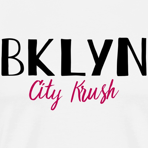 BKLYN City Krush - Men's Premium T-Shirt