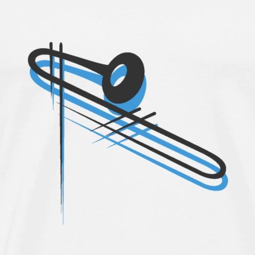 Trent Hamilton Trombone Design - Men's Premium T-Shirt