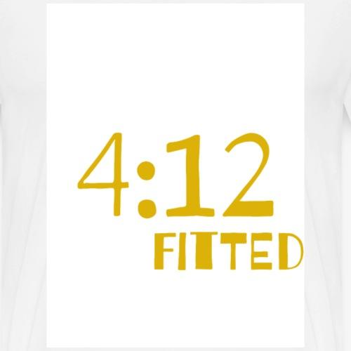 4:12 Fitted - Men's Premium T-Shirt