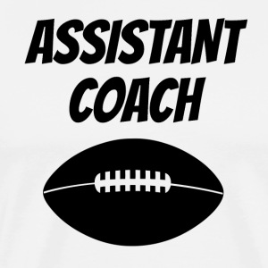 Assistant Football Coach - Men's Premium T-Shirt