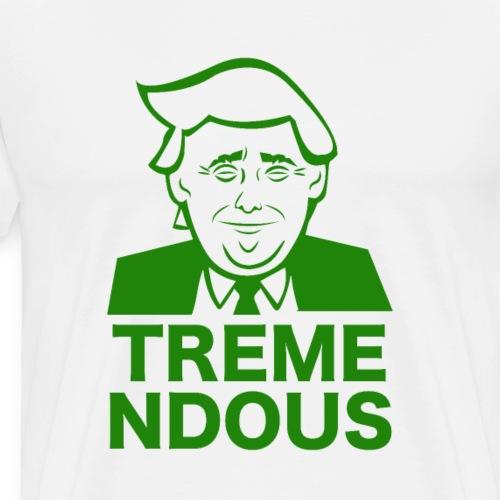 President Trump America freedom USA 4th of July - Men's Premium T-Shirt