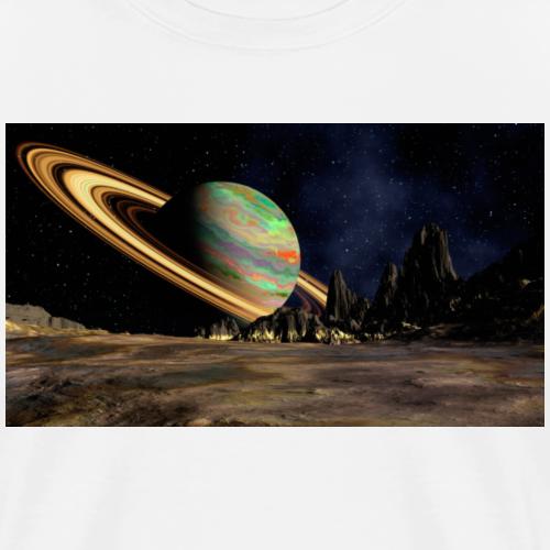 Saturn - Men's Premium T-Shirt