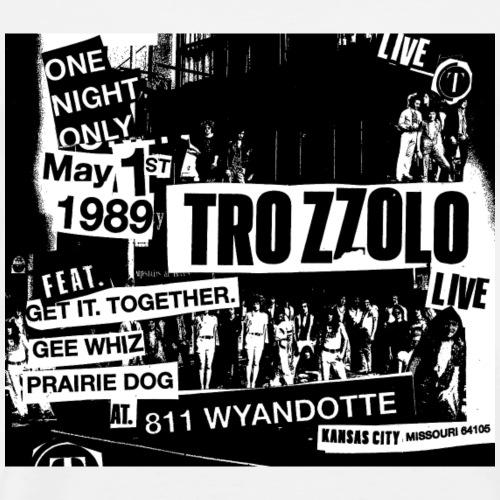Trozzolo Live Tshirt Caruba Flyer - Men's Premium T-Shirt