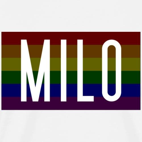 milo logo pride - Men's Premium T-Shirt