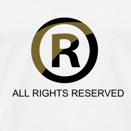 All Rights Reserved - Men's Premium T-Shirt