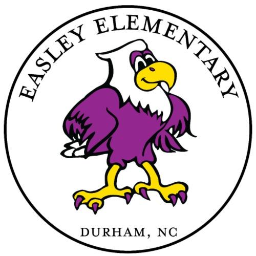Easley Eagle Round Logo - Men's Premium T-Shirt