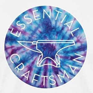 Tie Die Craftsman - Men's Premium T-Shirt