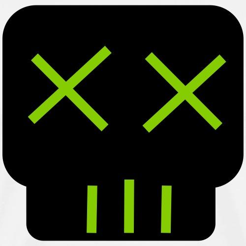 Neon Green skullkid - Men's Premium T-Shirt