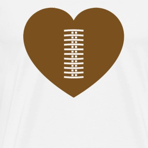 Football - Football Love - Men's Premium T-Shirt