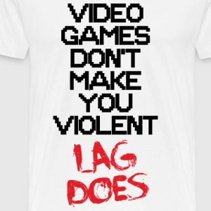 Video game - Lag - Men's Premium T-Shirt