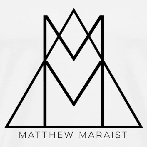 Matthew Maraist Black Logo - Men's Premium T-Shirt