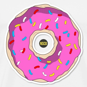 Donut Retro - Men's Premium T-Shirt