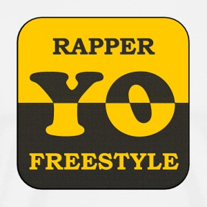 Rapper yo freestyle - Men's Premium T-Shirt