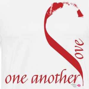 Love_one_another - Men's Premium T-Shirt
