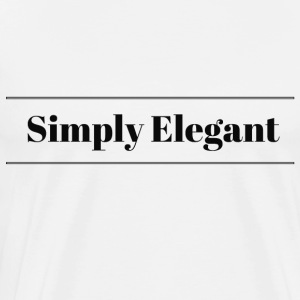 Simply Elegant - Men's Premium T-Shirt