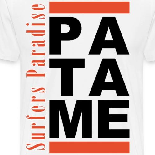 Patame Surfers Paradise Black - Men's Premium T-Shirt