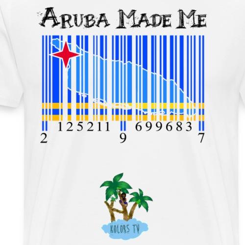 Aruba made me original - Men's Premium T-Shirt