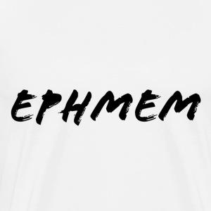 Brushed EphMem Logo - Men's Premium T-Shirt