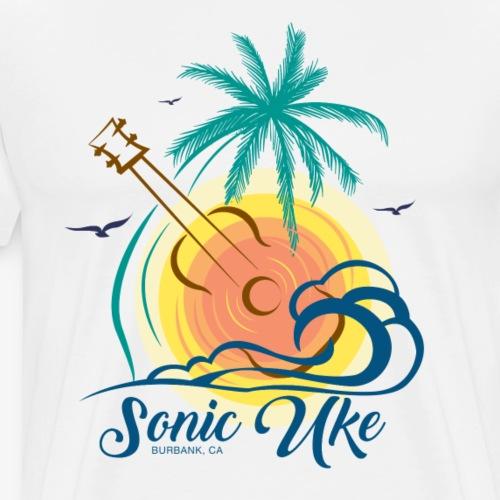 Sonic Uke Logo #1 - Men's Premium T-Shirt