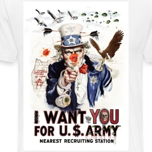 I want you - Men's Premium T-Shirt