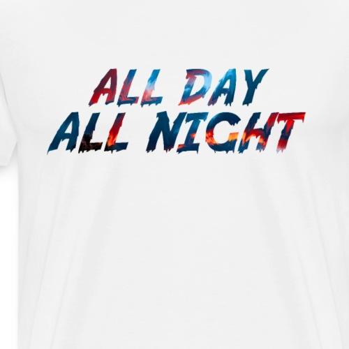 All Day,Night T-Shirt - Men's Premium T-Shirt