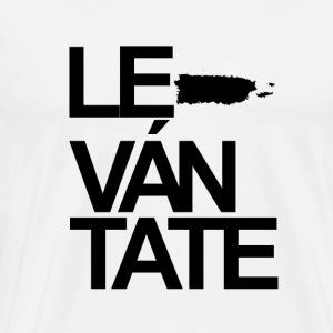 Levántate Puerto Rico (Black) - Men's Premium T-Shirt