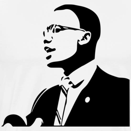 Malcolm X - Men's Premium T-Shirt