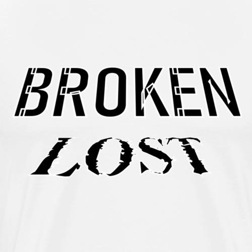 broken lost - Men's Premium T-Shirt