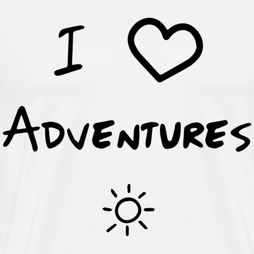 iloveadventures - Men's Premium T-Shirt