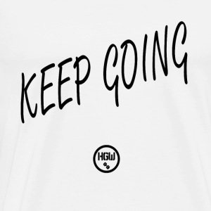 KEEP GOING - Motivation - Men's Premium T-Shirt