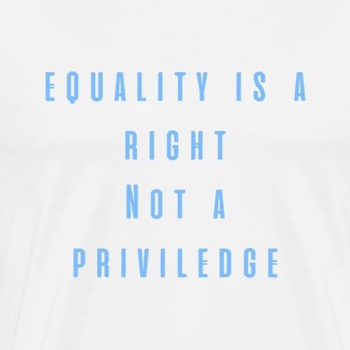 Equality Blue - Men's Premium T-Shirt