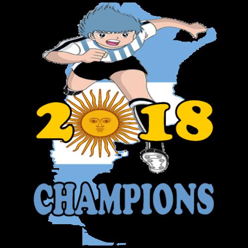 Argentina World Cup Champions 2018 - Men's Premium T-Shirt
