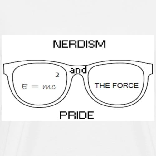 Nerdism and Pride - Men's Premium T-Shirt