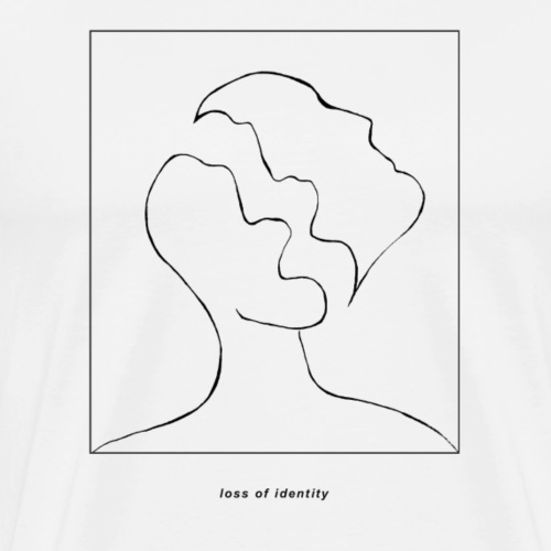 Loss of Identity - Men's Premium T-Shirt