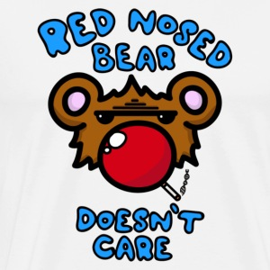 Red Nosed Bear - Men's Premium T-Shirt