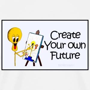 Create Your Own Future - Men's Premium T-Shirt
