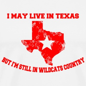 Texas - i may live in texas but i'm still in wil - Men's Premium T-Shirt