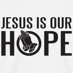 Jesus - Jesus is our hope - Men's Premium T-Shirt