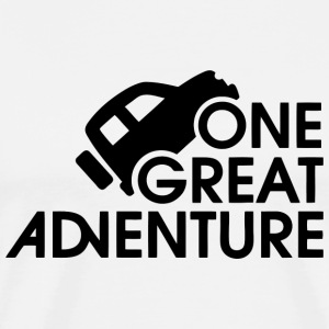 Adventure - One Great Adventure - Men's Premium T-Shirt