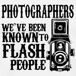 Photographer - photographers we've been known to - Men's Premium T-Shirt
