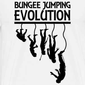 Jumping - Bungee Jumping EVOLUTION - Men's Premium T-Shirt