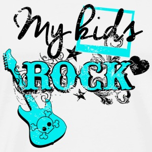 Rock - My Kids Rock - Men's Premium T-Shirt