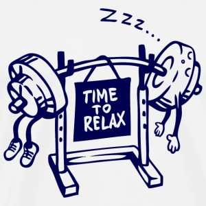 Relax - time to relax - Men's Premium T-Shirt