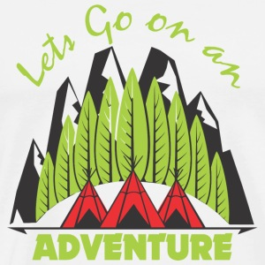 Adventure - Lets go on an Adventure! - Men's Premium T-Shirt