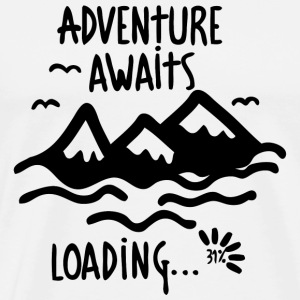 Adventure - Adventure Awaits - Men's Premium T-Shirt