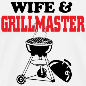 Grill master - wife and grill master - Men's Premium T-Shirt