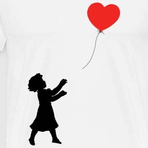 Balloon - FOLLOW YOUR HEART ♥ - Men's Premium T-Shirt