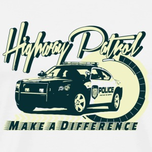Police - Highway Patrol v2 - Men's Premium T-Shirt