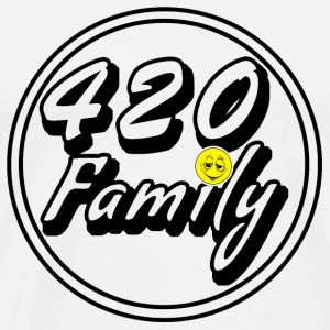 420 Family Smiley - Men's Premium T-Shirt