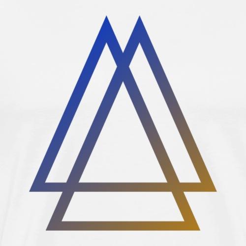 GRADIENT SYMBOL - Men's Premium T-Shirt